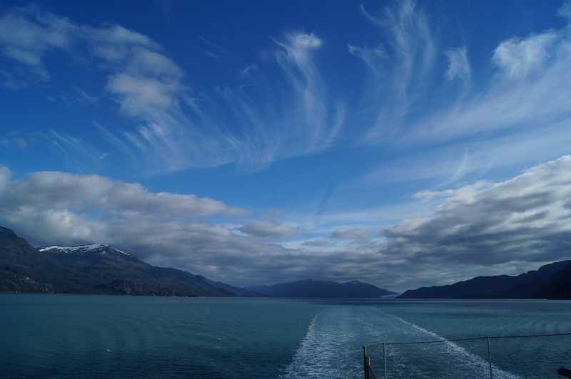 ピースボート78回クルーズ 58日目:パタゴニア氷河フィヨルド遊覧!