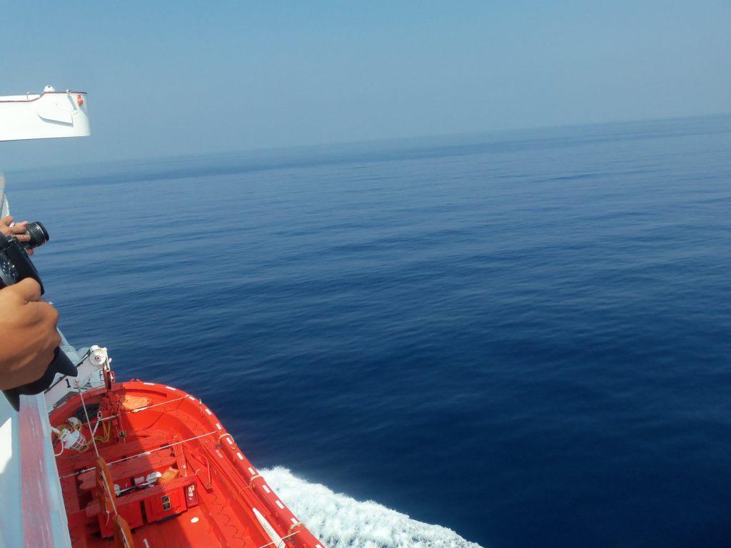ピースボート71回クルーズ24日目:祭りのあとの静けさとベタナギ