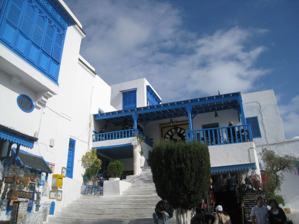 ピースボート71回クルーズ34日目:チュニジア二日目。カルタゴ遺跡や青と白の街シディブサイドなど