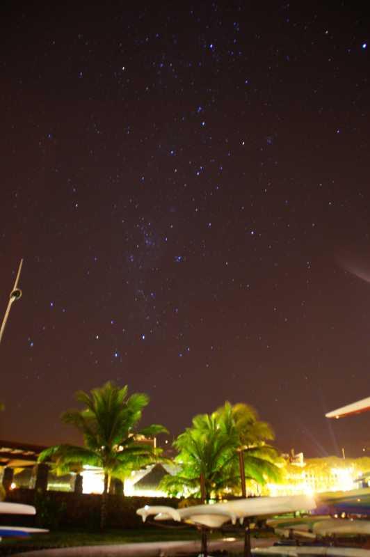 タヒチの星空