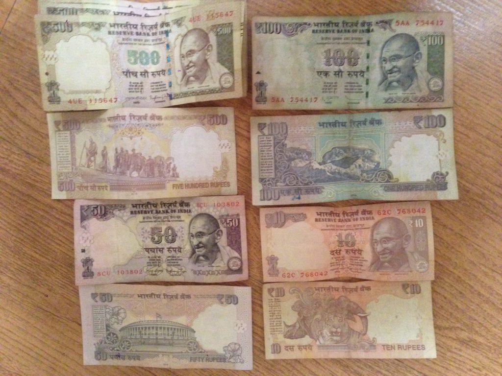 世界3周目の1ヵ国目インド。インド人もびっくり!? 突然のインド高額紙幣の使用停止発表!