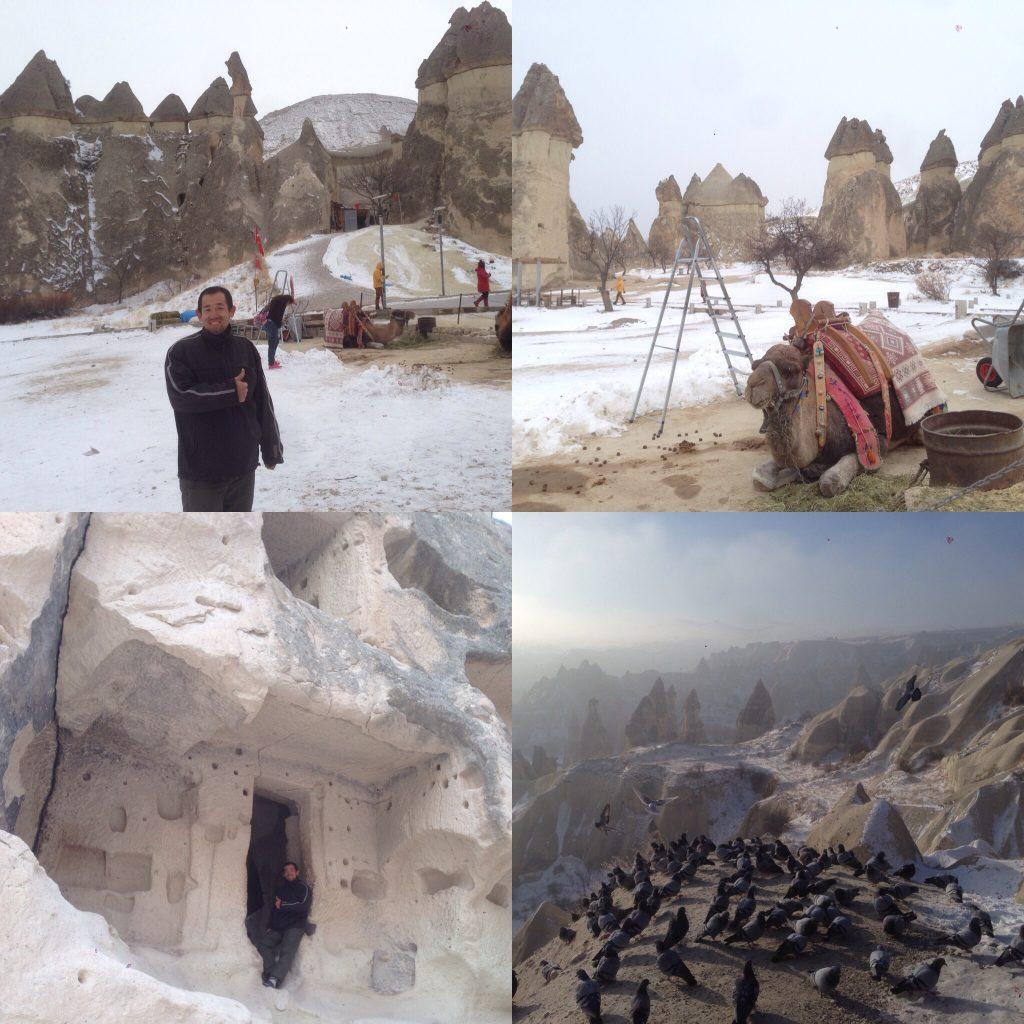 世界3周目の7ヵ国目トルコ・奇岩カッパドキアでグリーンツアー、巨大地下都市、リアルドラクエ!