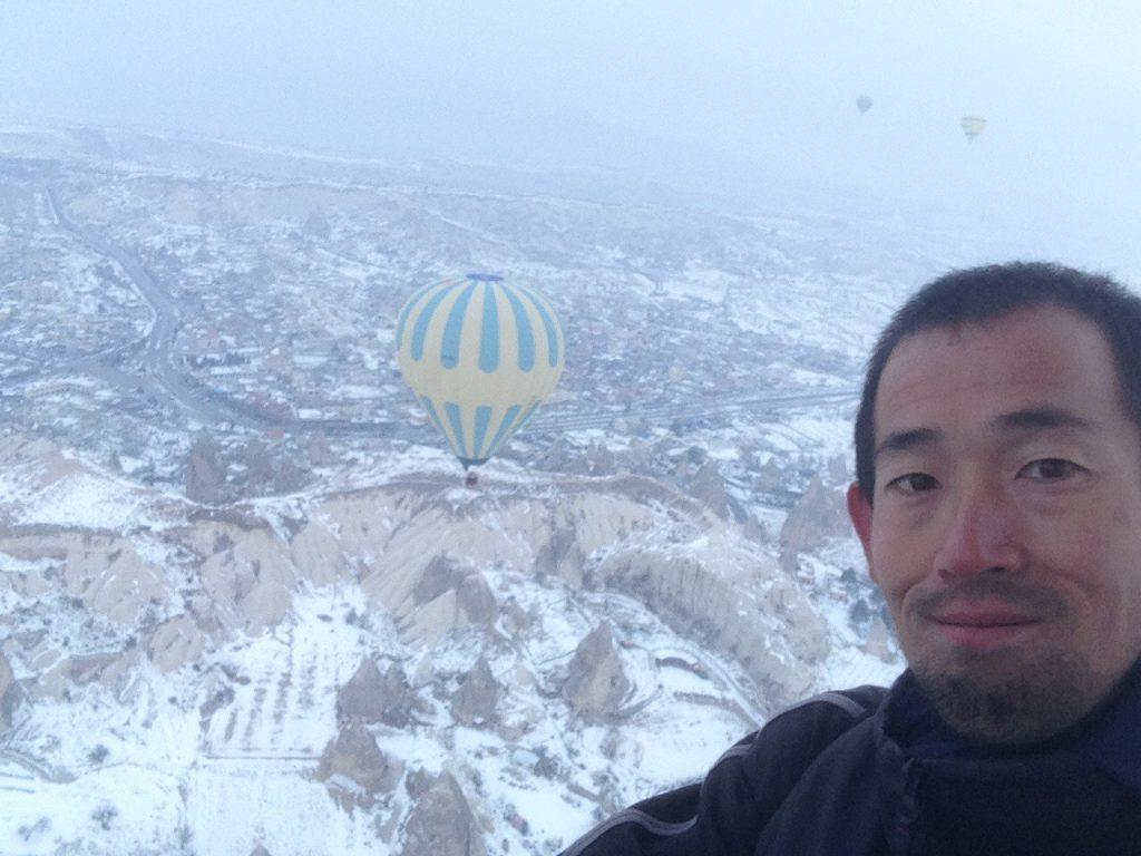 世界3周目:トルコ。カッパドキア2日目:気球ツアーとレッドツアー