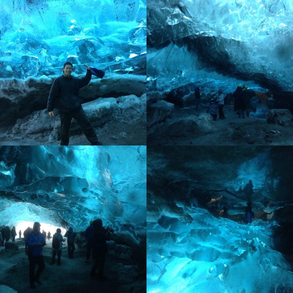 アイスランドの氷の洞窟にツアーでなく自力で行ってきた。世界3周目17ヵ国目。