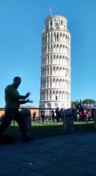 世界3周目:14ヶ国目イタリア:ピサの斜塔