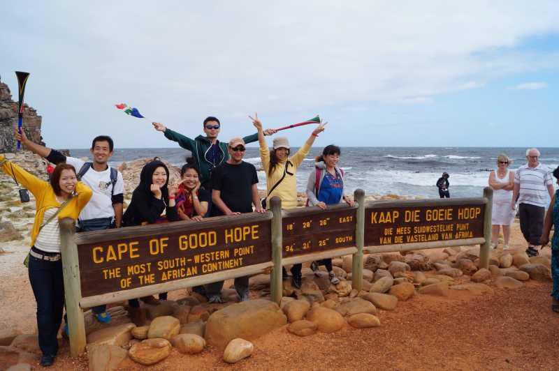 ピースボート78回クルーズ32日目:南アフリカのケープタウンと喜望峰