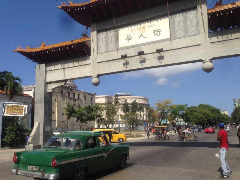 世界3周目。キューバ1日目。入国、中華街とクラシックカー、激安キューバなど。4/11火