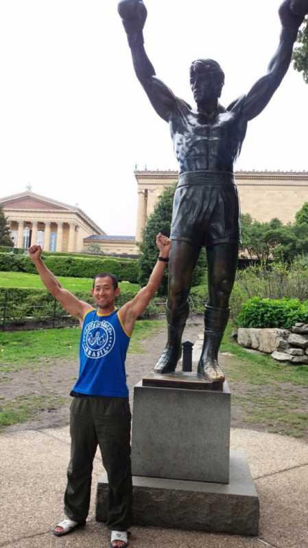 アメリカ横断13日目 フィラデルフィアのロッキーステップとヤンキースタジアムでマー君ノックアウト