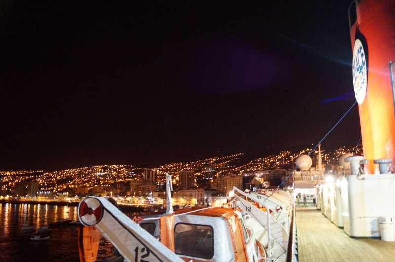ピースボート78回クルーズ 63日目:チリのバルパライソ寄港、そしてピースボートから離脱