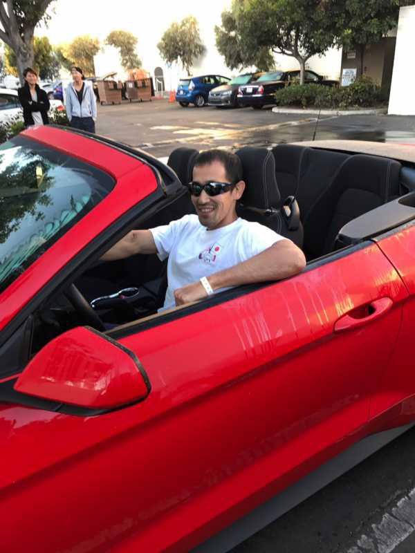 オープンカーでサンディエゴへ