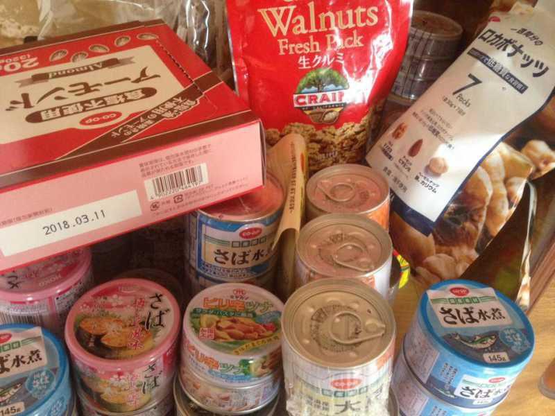 低糖質ダイエットや在宅勤務にお勧めの常備品&備蓄品