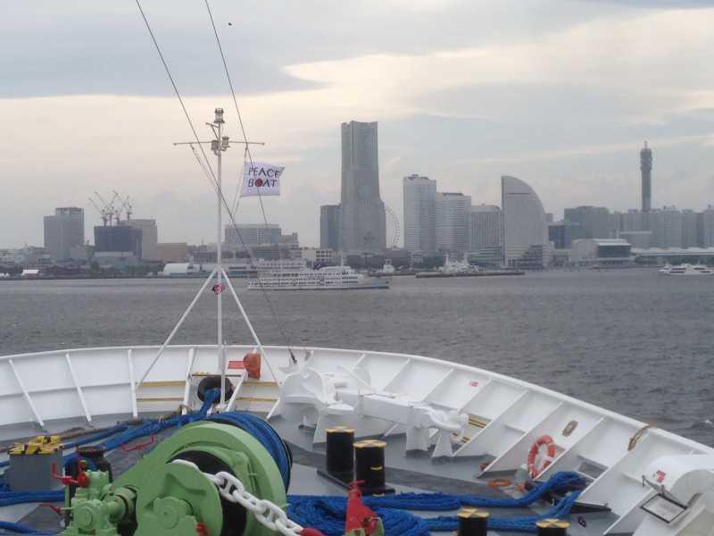 5年ぶりのピースボート乗船。ゴールデンウィーク・ショートクルーズ10日目。横浜に帰港!