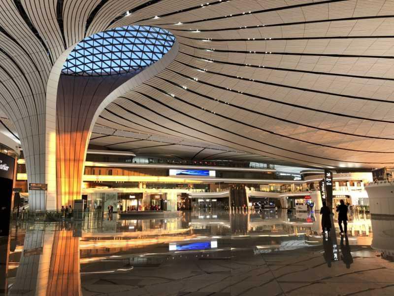 北京の新空港【北京大興国際空港】を使ってみた! アクセスやプライオリティパスでのラウンジは? 地下鉄の行き方は?