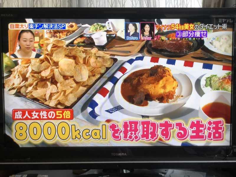 テレビのダイエット企画を真似しても痩せない3つの理由とは?
